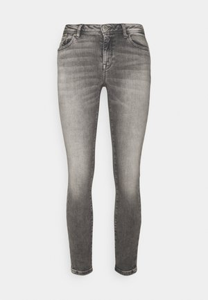 ONLISA ZIP - Jeans Skinny Fit - grey denim