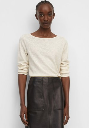 Long sleeved top - chalky sand