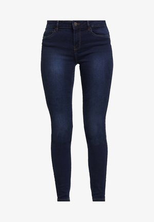 VMSEVEN SHAPE UP - Jeansy Skinny Fit - dark blue denim