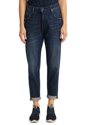 MOMS - Straight leg jeans - blau
