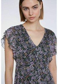 SET - Maxi dress - black violett - 4