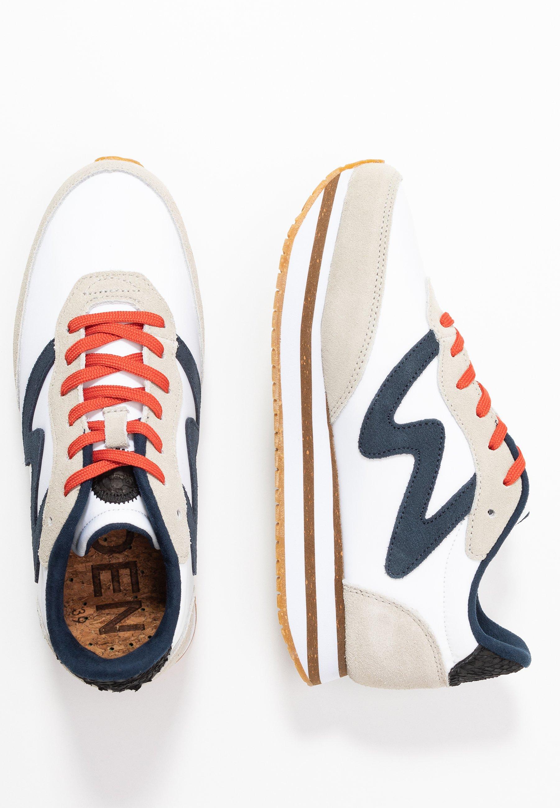 Woden OLIVIA PLATEAU II Sneaker low bright white/weiß