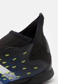 adidas Performance - PREDATOR FREAK .3 LL TF UNISEX - Astro turf trainers - core black/footwear white/solar yellow - 5