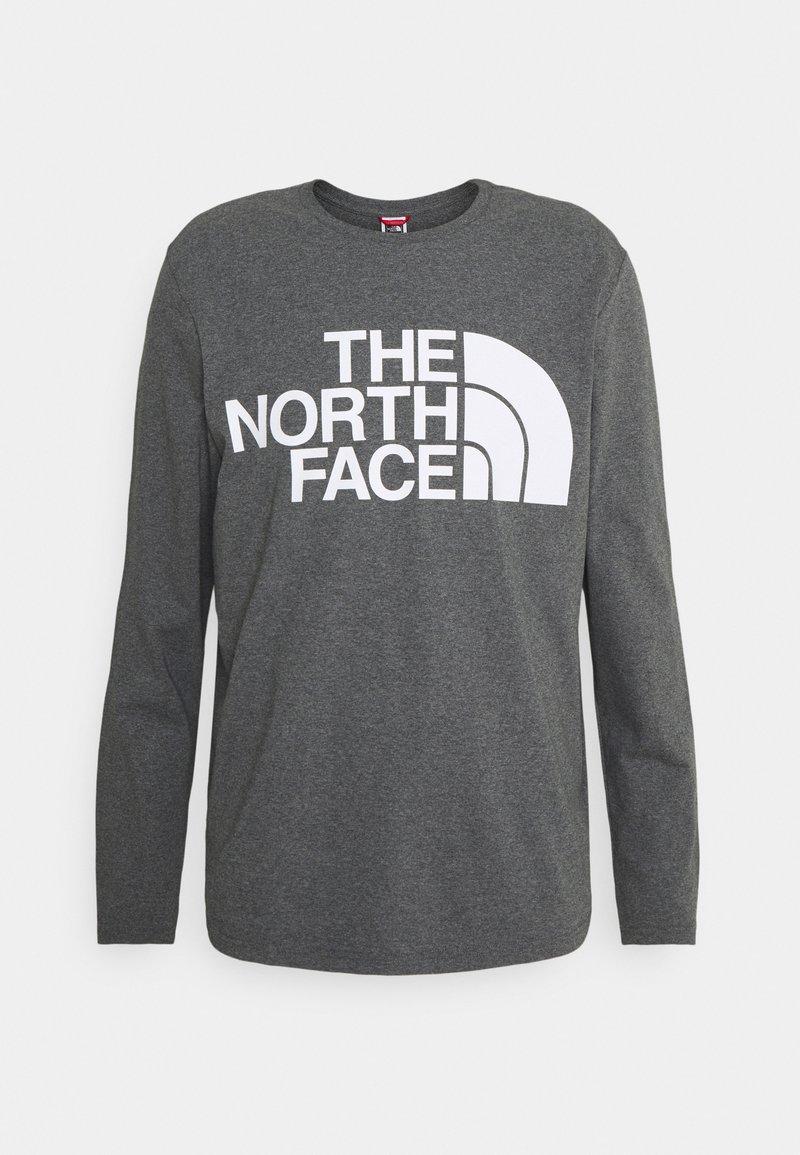 The North Face - STANDARD TEE - Långärmad tröja - medium grey heather