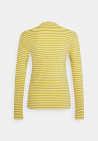 Marc O'Polo - LONG SLEEVE TURTLE NECK - Long sleeved top - multi/pure curry - 1