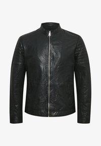 Matinique - Leather jacket - black - 5