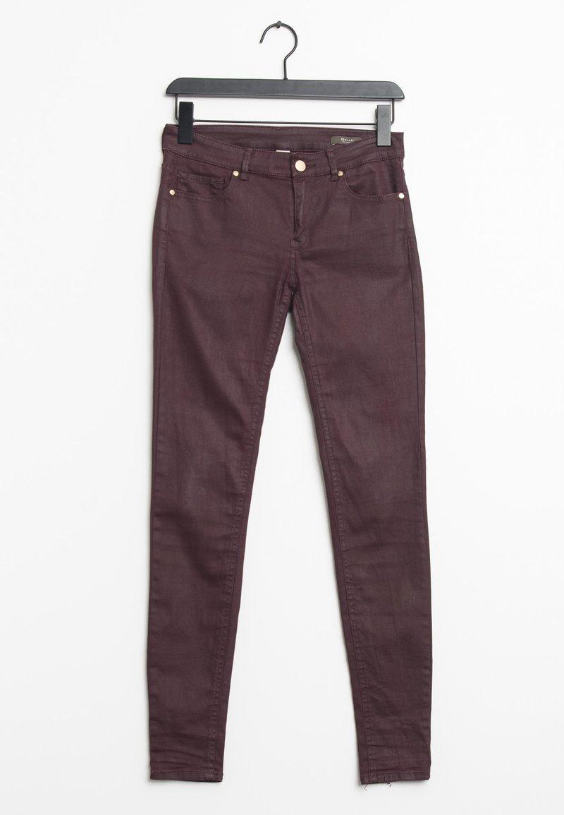 Mango - Trousers - purple