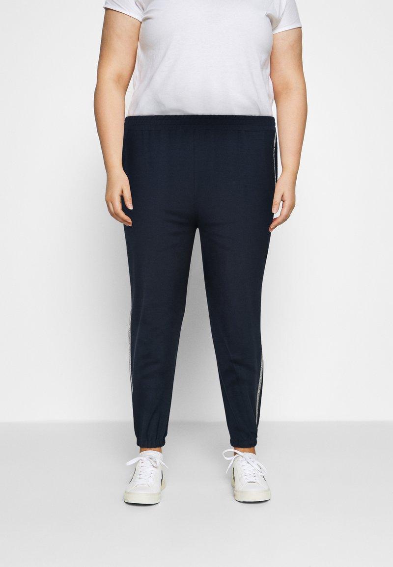 MICHAEL Michael Kors - LOGO TAPE - Teplákové kalhoty - midnight blue