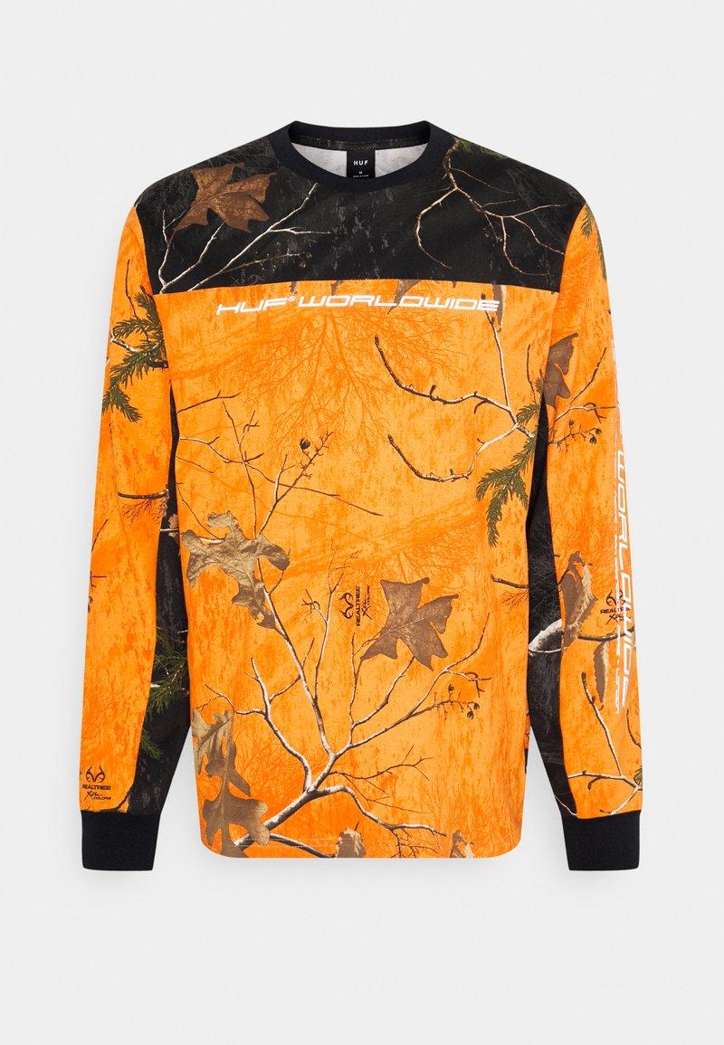 HUF - ENDO - Long sleeved top - orange