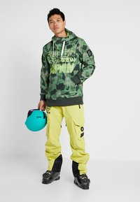 Superdry - ULTIMATE SNOW RESCUE PANT - Skibroek - sulpher yellow - 1
