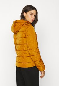 Vero Moda Petite - VMMOLLIE SHORT JACKET - Light jacket - buckthorn brown - 3