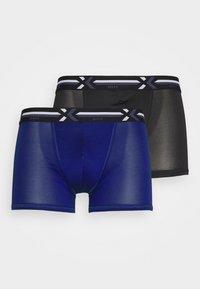 bleu-indigo/noir