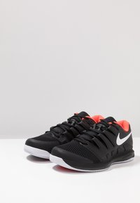 Nike Performance - AIR ZOOM VAPOR X - All court tennisskor - black/white/bright crimson - 2