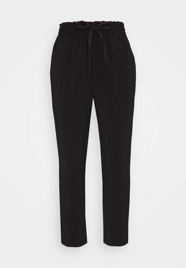 OBJARIA PANTS 109 PETIT - Trousers - black