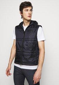 Emporio Armani - Winter jacket - dark blue - 4