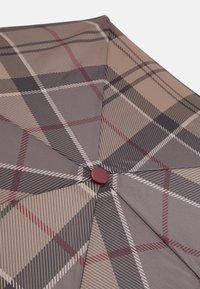 Barbour - PORTREE UMBRELLA - Umbrella - dark brown - 4