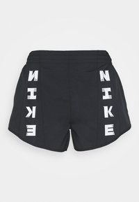 Nike Performance - TEMPO SHORT - Pantalón corto de deporte - black/black/black/white - 4