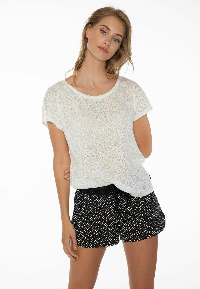 FLOWERY  - Shorts - seashell