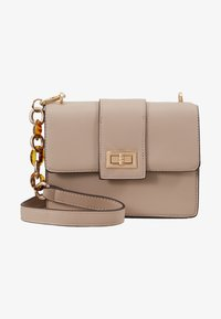 Dorothy Perkins - TORT HANDLE CROSSBODY - Sac bandoulière - nude - 5