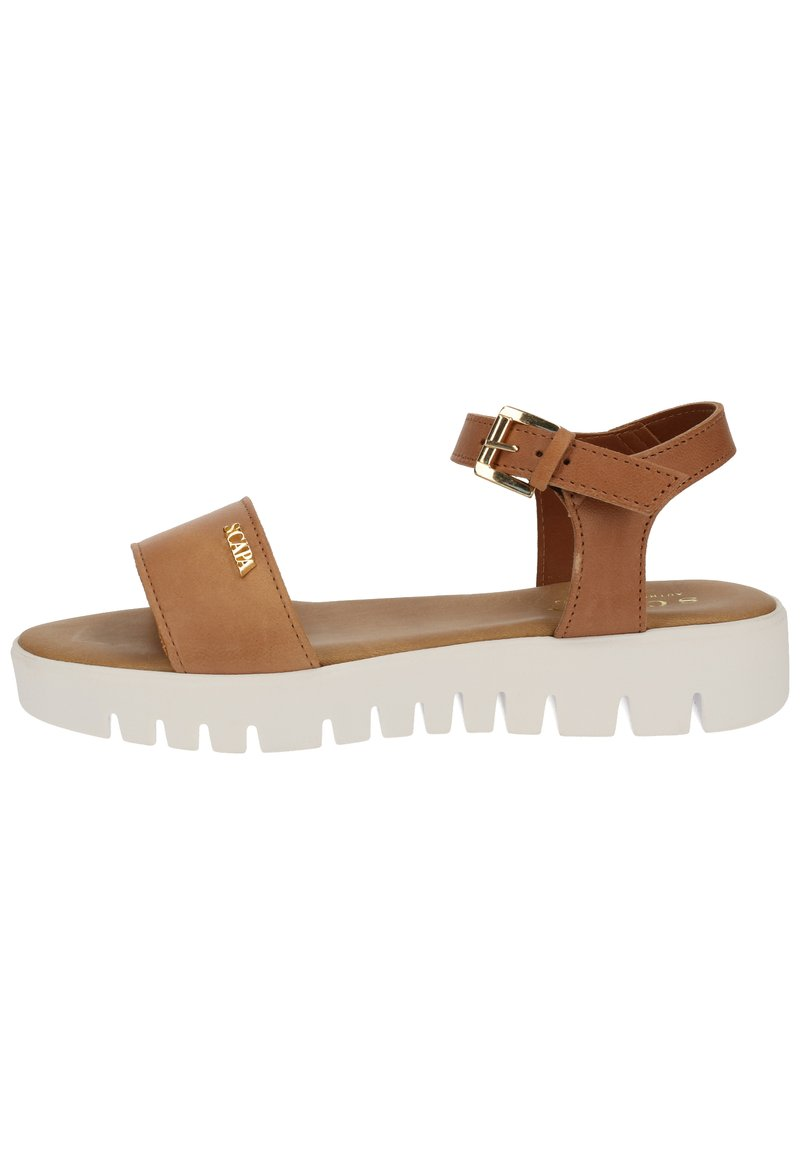 Scapa - Sandals - cuoio