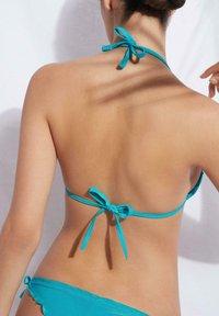 Calzedonia - Bikini top - paradise blue shine - 1