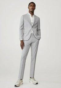 Mango - Blazer jacket - mittelgrau - 1