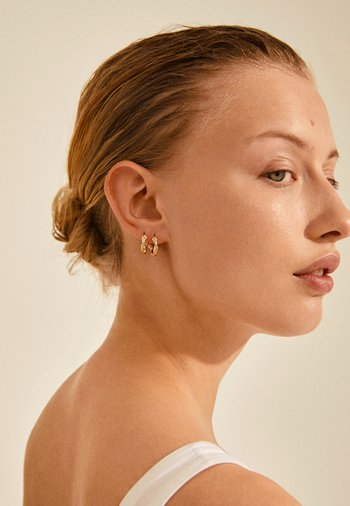 ZION - Earrings - gold-coloured