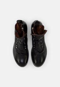A.S.98 - CLASH - Cowboy/biker ankle boot - nero - 3