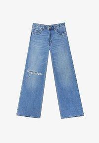 Stradivarius - Jeans bootcut - blue - 4