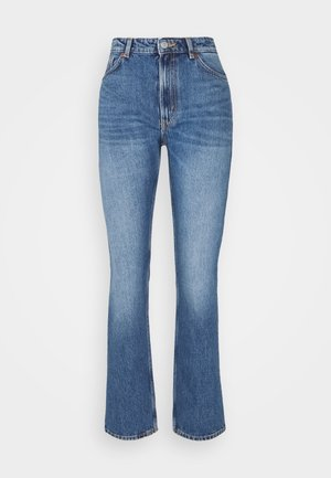 MOLUNA JEANS - Straight leg jeans - blue medium dusty