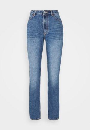 Jeansy Straight Leg - blue medium dusty
