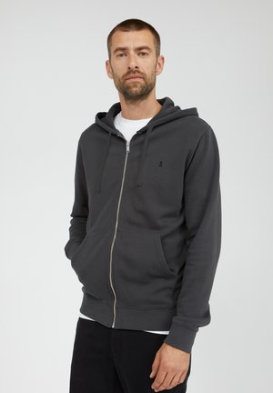 ZAAC - Zip-up hoodie - acid black