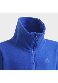 adidas Performance - DESIGNED TO MOVE OBERTEIL - Zip-up sweatshirt - blue - 4