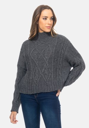 Jumper - gris oscuro