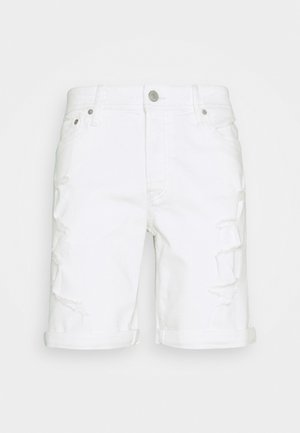 JJIRICK JJORIGINAL - Shorts vaqueros - white denim