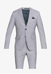 Lindbergh - CHECKED SUIT - Completo - lt grey check - 8