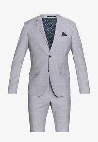 Lindbergh - CHECKED SUIT - Oblek - lt grey check - 8