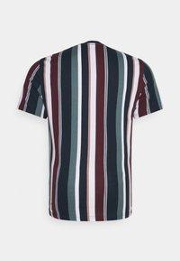 Johnny Bigg - BRENT STRIPE CREW TEE - Print T-shirt - sage - 1