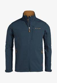 Vaude - Soft shell jacket - steelblue - 0