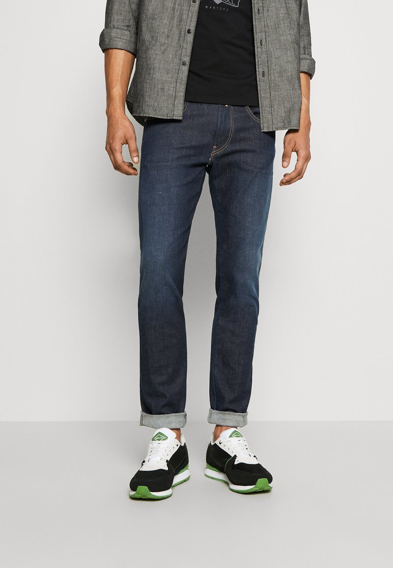 Replay - CLASSIC WEST - Sneakers - black/white/green