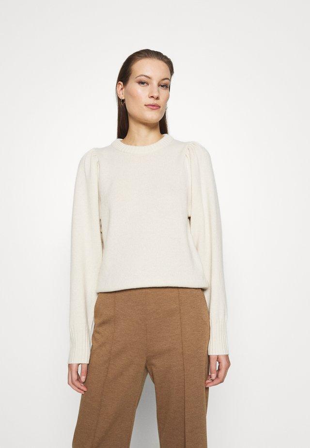 Sweater - Jumper - white dusty