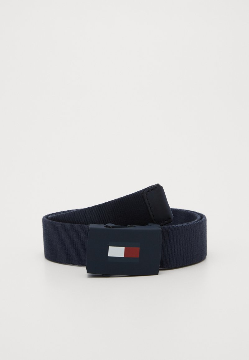 Tommy Hilfiger - PLAQUE BELT - Cinturón - blue