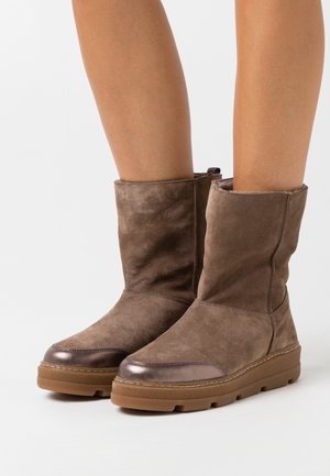 FLOU - Winter boots - taupe/light metal
