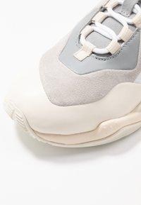 Puma - THUNDER BLOCK - Sneaker low - quarry/white smoke - 2