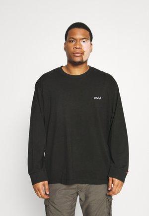 BIG TAB TEE - Långärmad tröja - mineral black