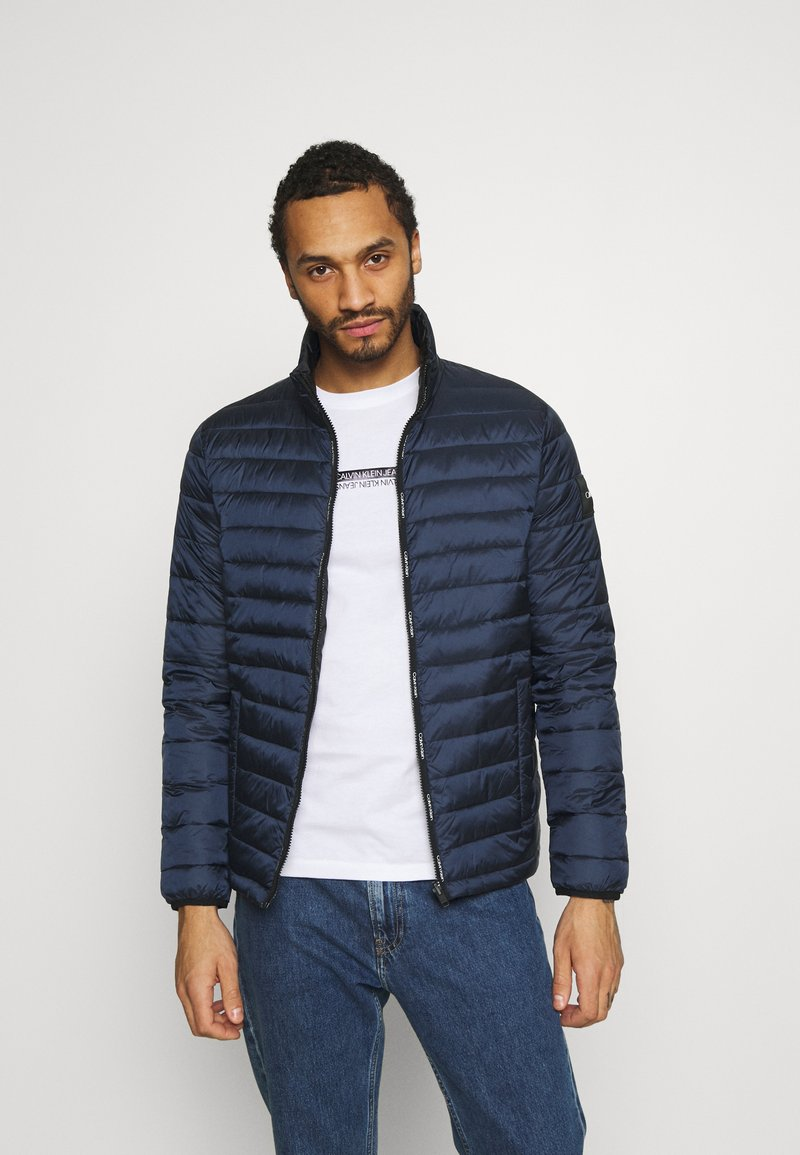 Calvin Klein - REVERSIBLE JACKET - Summer jacket - blue