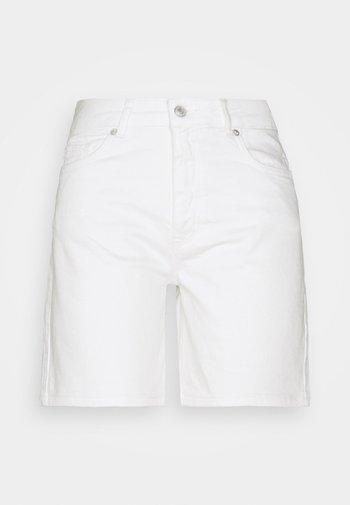 SLFSILLA - Short en jean - white denim