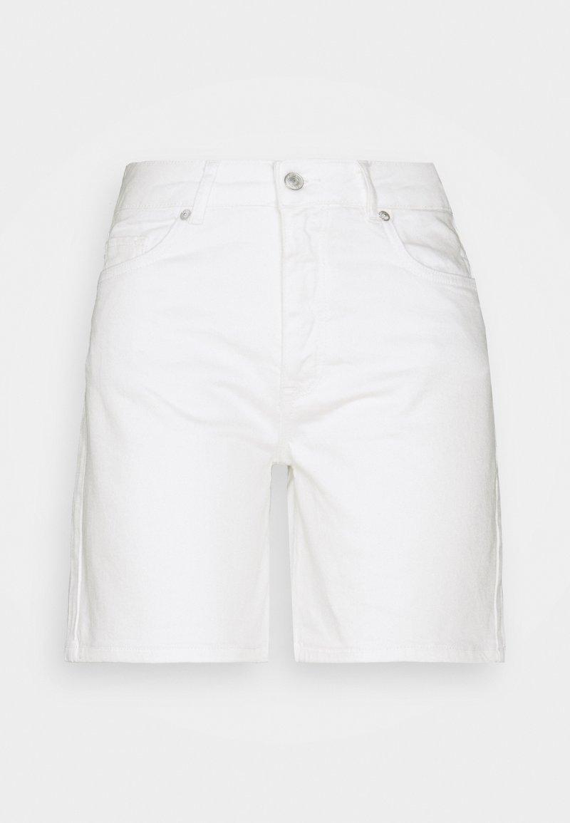 Selected Femme - SLFSILLA - Jeansshort - white denim