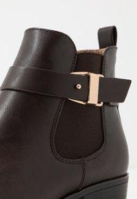 Anna Field - Ankle boots - dark brown - 2