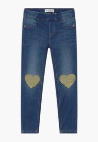 Lindex - MINI TINA - Slim fit jeans - dark denim - 0